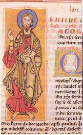 Codex Calixtinus Saint Jacob